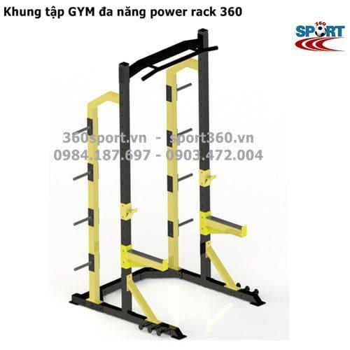 Khung tập GYM đa năng power rack 360