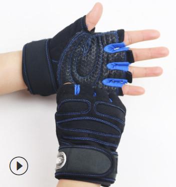 Găng tay tập Gym SP11 màu xanh dương