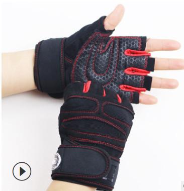 Găng tay tập Gym SP11 màu đỏ