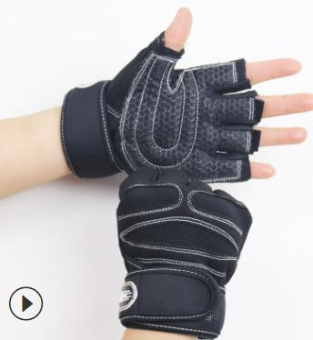 Găng tay tập Gym SP11 màu đen