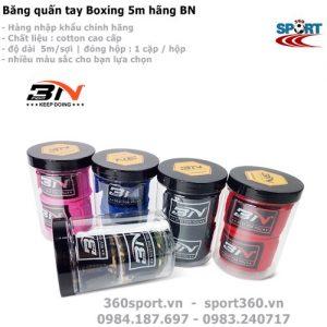 Băng quấn tay Boxing 5m hãng BN