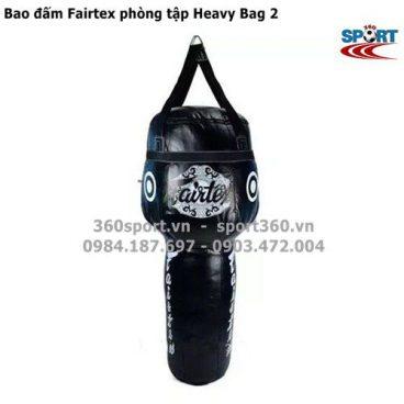 Bao đấm Fairtex cỡ lớn phòng tập Heavy Bag 2