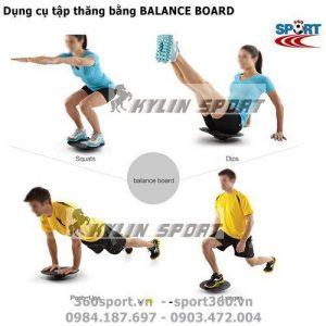 Dụng cụ tập thăng bằng BALANCE BOARD