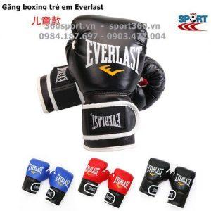 Găng đấm boxing trẻ em Everlast cao cấp