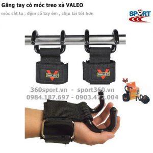 Găng tay có móc hỗ trợ nâng tạ