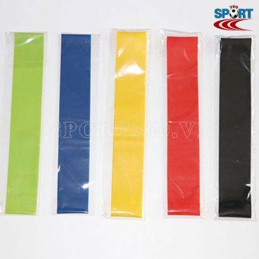 Bộ sản phẩm có 5 dây với 5 độ màu khác nhau