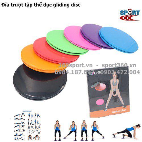 Đĩa trượt tập thể dục gliding disc