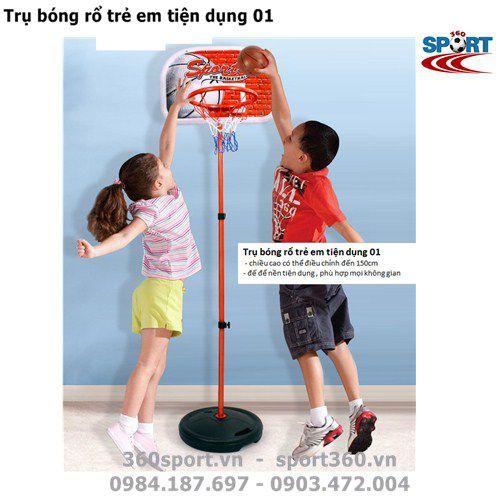 Trụ bóng rổ trẻ em tiện dụng 01