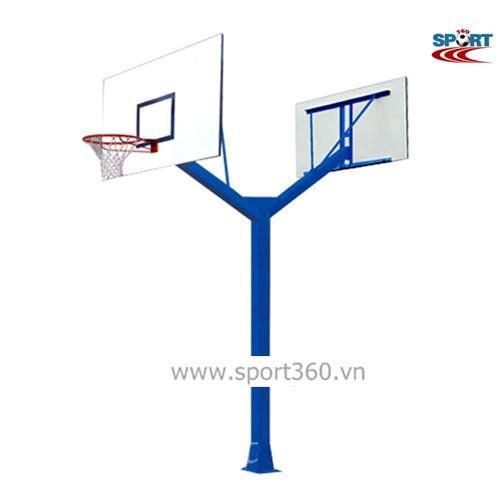 Trụ bóng rổ ngoài trời đôi